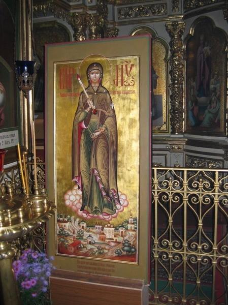 Чудотворная икона Пресвятой Богородицы «Вратарница»